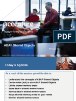 ABAP Shared Objects