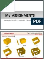 Bhavika Goyal Assignments Portfolio