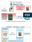 Highland Dove Curriculum Overview