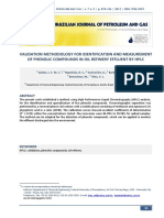 305-174VALIDATION METHODOLOGY FOR IDENTIFICATION AND MEASUREMENT OF PHENOLIC COMPOUNDS IN OIL REFINERY EFFLUENT BY HPLC3-1-PB