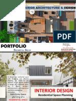 Bhavika Planning Portfolio B.Sc-Interior Design