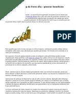 Sistemas de Trading de Forex día - generar beneficios rápidamente