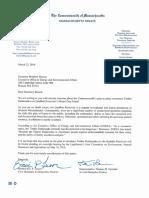 Senator Lesser Joint Timber Rattlesnakes Letter_033116