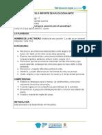 Actividad2 Protocolo Reporte de Aplicación Aamtic