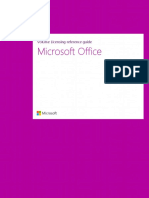 Volume Licensing Reference Guide for Microsoft Office