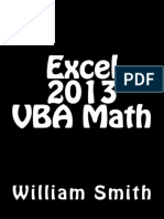 Excel 2013 VBA Math - William Smith
