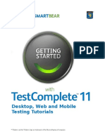 Getting Started With TestComplete