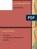 Human Resource Management Compensation and benefits