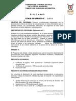 Programa Diplomaods Pi Usach 2016