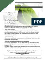 Götzen-Test (Booklet)