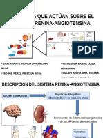 Fármacos Que Actúan Sobre El Sistema Renina Angiotensina