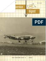 Lockheed Field Service Digest FSD Vol.3 No.6 Intro L1649 Starliner Part 2 of 3