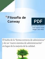 Filosofía de Conway