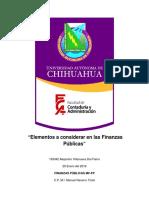 Resumen Exposición Pib Finanzas Publicas