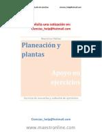 Planeación y Plantas