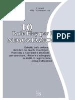 10 Role Play Per La Negoziazion - Adv Assessment Lab