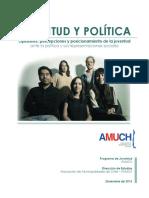 Estudio Juventud y Política 2016