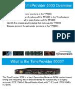 1- Module TimeProvider 5000