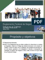 Presentacion Reglamento Federal de Seguridad y Salud en El Trabajo