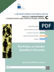 Gender equality Slovenia