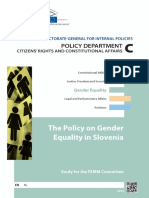 Gender equality Slovenia