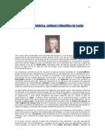 ContContexto histórico, cultural y filosófico de Lockeexto Historico-cultural y Filosofico de John Locke