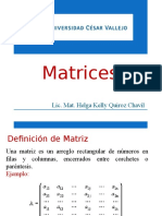 Matrices Logaritmo