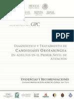 ER Candidiasis Orofaringea