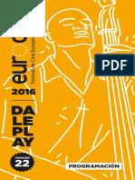 Programación Eurocine 2016