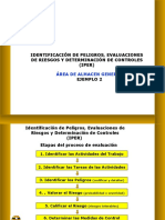 EJEMPLO ALMACEN-IPER Recepción y Almacenamiento de Cilindros de Cianuro