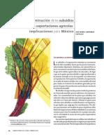 Subsidios Agrícolas México