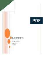 EJERCICIOS HIDROLOGIA