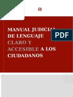 MANUAL+JUDICIAL+DE+LENGUAJE+CLARO+Y+ACCESIBLE