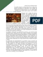 Historia de Restaurantes Formato Inicial