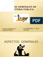 Presentación de Normas Generales de Auditoria Publica Final