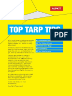 TOP TARP TIPS