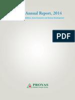 Proyash Report-2015 -Bengali