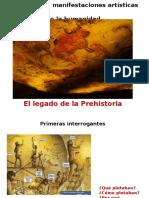 El legado artístico de la Prehistoria