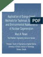 20 ROSEN Application Exergy Based Methods