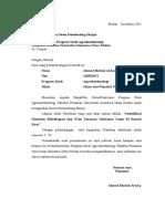 contoh surat pengajuan dosen pembimbing
