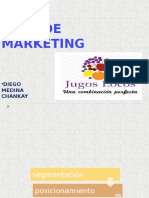 Plan de Marketing 2013