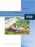 Caderno de Resumos do Conelin 2015