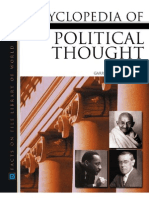 Encycl of Political Thought