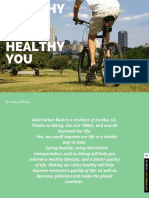 healthy cities means healthy you