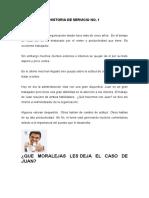 Historia de Servicio - Eje-Analisis