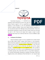 TOYOTA - SWOT Analysis
