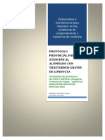 Protocolo Provincial Modificación de Conducta
