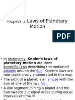Kepler's Laws of Planetary Motion Wikipedia.pptx