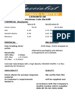Backfill Data Sheet