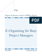 E-Organizing for Busy